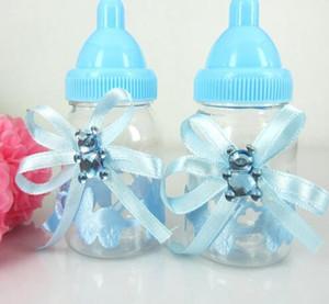 12pcs bonbons Fillable Boîte Bouteille Ours Ruban baby shower de baptême d'anniversaire pour Décorations festives Craft