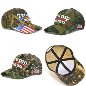 Donald Trump Hat Trump 2020 Camouflage USA Flag Baseball Caps Snapback Hat Embroidery Letter Camo Cap Party Hats OOA7579-6