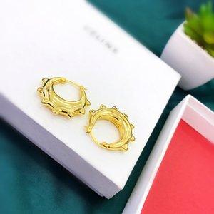 Ce logo luxury designer jewelry women earrings fashion hoop earrings Gold Silver Earrings Gift designer earings