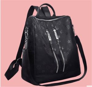 Design di lusso zaino spalla delle donne di modo casuale zaino versatile Semplice grande capacità sacchetto di alta qualità geometrica delle donne del modello 7