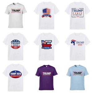 Luxo Mens Designer Trump camisetas Marca T-shirts Ouro 3D Logo Imprimir manga curta camiseta Mens Vestuário Mulheres Desiner camisetas Homme Tees Plu