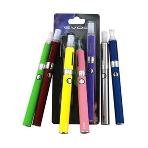 Evod MT3 kits de arranque de blister de calidad superior kit de cigarrillo electrónico tanques mt3 e cigarrillo EVOD atomizador batería Evape vape para Cigaer electrónico