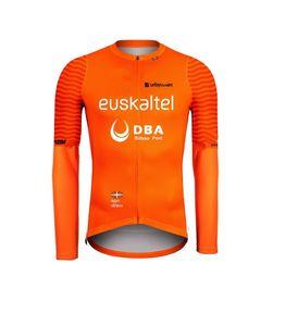 SPRING SUMMER ONLY CYCLING JACKETS CLOTHING LONG JERSEY ROPA CICLISMO 2020 Euskaltel Euskadi DBA PRO TEAM SIZE:XS-4XL
