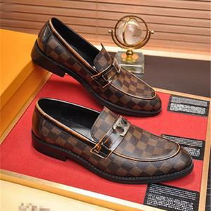 En lüks İngiliz Stil Erkekler İş Elbise PU Deri Siyah Sivri Örgün Düğün Shoes Zapatos De Hombre Loafers Erkek
