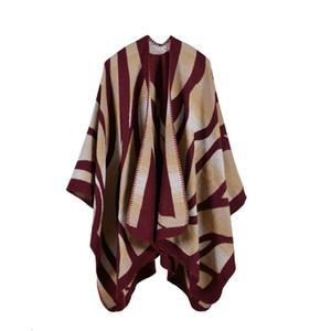 Classic Shawls Luxury Fashion Lady Scarves & Wraps Autumn and Winter Brand New Imitation Cashmere Geometric Pashmina