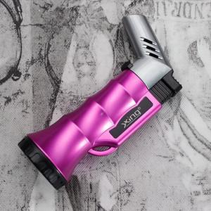 Cigarette Isqueiros infláveis leves Isqueiro fixo Bloqueio fogo Hetero Ponto fumar charuto liga de zinco acessórios New Style