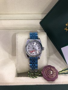 Mit ursprünglichem Kasten Papers Luxus-Frauen-Uhr-Dame Größe 26mm Datum Mädchen Saphirglas Armbanduhr-automatische mechanische Bewegung Original-Schließe