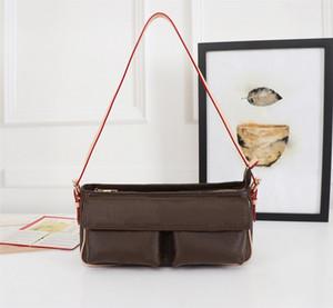 Qualitäts-Modedesigner Luxus Handtaschen Portemonnaie Petite Malle Michael Tasche Frauen-Marken-klassische Art-echtes Leder-Schultertasche