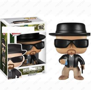 Funko Pop Breaking Bad Heisenberg # 162 Action Figures Toy con box da collezione Modello giocattoli per i bambini del partito del regalo di compleanno di favore di trasporto