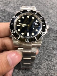 de altíssima qualidade v8 Nfactory mens luxo eta3135 automática relógios 40 milímetros 116610ln relógios homens painel de cerâmica discar esporte mergulhador luminosa