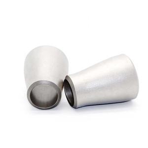 heißer verkauf maßgeschneiderte titan rohrfitting titan gleich t-stück fabrik preis ss316 stumpfgeschweißt conc reduucer gr2 titanium ellbogen