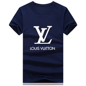 Fashion summer short t shirt men brand clothing cotton comfortable male t-shirt print tshirt men clothing Plus Size 9 colors G6LV