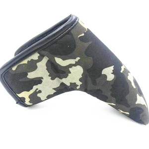 Golf Couverture Lame en toile Clubs de golf Couverture Camouflage Golf Putter Headcover