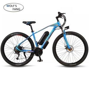 Elektrikli bisiklet 29 inç 36 V 350 W 10.4 AH 27 hız alüminyum alaşım elektrikli bisiklet dağ bisikleti Ebike fırçasız motor lityum batte