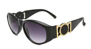 Estate stile italia medusa occhiali da sole montatura da donna uomo marca designer protezione uv occhiali da sole lenti trasparenti e lenti da sole