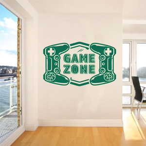 Game Zone Two Player Controller Game Sticker For Home Living Room And Room Decoration A002841