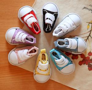 D01-P310 bambini giocattoli fatti a mano 1/6 Doll Accessori BJD / SD bambola colorate scarpe di tela stringate 1pair
