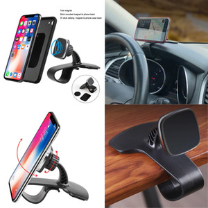 Universal GPS phone holder Rotatable Car Phone Holder Magnetic Stand Clip Cradle Adjustable Dashboard Phone Mount Stand GPS Holder