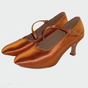Los mayoría de los zapatos de baile latino popular al por mayor de personalización 30 días de entrega Mujeres modernos zapatos de baile de salón de baile de la serie Annalisa