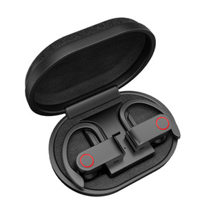 A9 Wireless Bluetooth Earphone TWS with Charging Box Bluetooth Headphone V5.0 True Stereo Sweatproof Earbuds with Mic