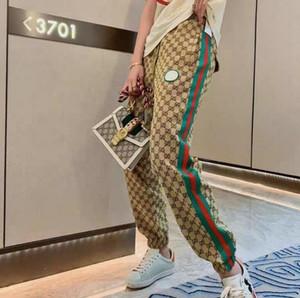 2020 signore casuali pantaloni casual, pantaloni del harun, versione coreana del web celebrity style, retro stampa sciolto sguardo pantaloni sottili del harun
