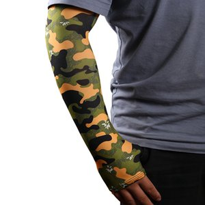 New Summer Camouflage ice Cuffs Outdoor Riding Fishing sun Protection Arm Sleeve for Men and Women uv Protection Sleeve T3I5889