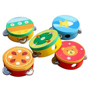 Baby-Kind-Musical Tambourine Beat-Instrument Educational Handbell Clap Drum Spielzeug