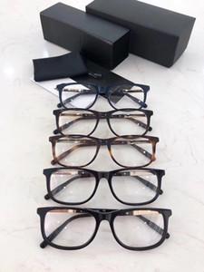 Quadro de alta qualidade óculos vintage para mulheres dos homens Acetato Praça prescrição óptica Óculos 0025