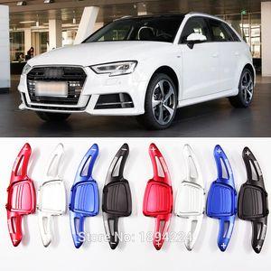 2pcs алюминиевого рулевого колеса автомобиль переключение Paddle Shifter Extension для Audi A1 2019
