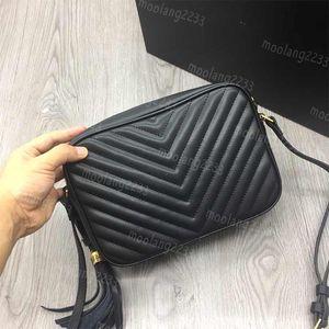 Горячие Оптовые сумки конструктора v Zig Zag мешок плеча Lou сь мешок в кожаном стеганый высоком качестве мешка посыльных женщины Кошельки M57700-1