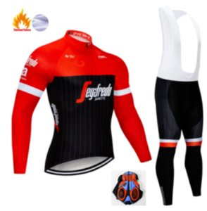 2019 Winter Thermal Fleece Warm Cycling Jersey Set Thermal Cycling Clothing Mtb Riding Clothing Ropa Ciclismo
