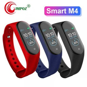 Intelligent Watch M4 Smart Bracelet Heart Rate Monitor Calories Waterproof IP67 Smart Band Fashion Watch Sport for iOS Android Smartphones