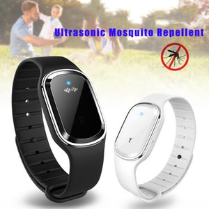 New Arrival Fashion Hot Sales Mosquito Repellent Bracelet Rechargeable Ultrasonic Biological Safe Non Toxic Pure Color hh88