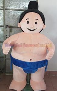 Сумо костюм талисмана Бесплатная доставка взрослый размер, японский сумо талисман костюм Плюшевые игрушки карнавал аниме кино классический мультфильм талисман продаж завода