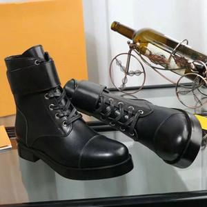 botas botas de las mujeres del cortocircuito de lana 2019 nueva punta gruesa con Martin estiramiento del tamaño tejer calcetines botas; 35-40