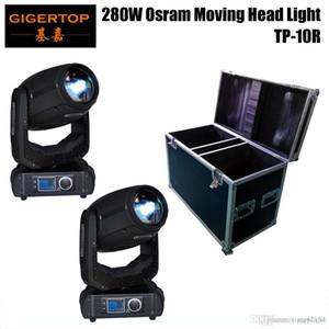 2IN1 플라이트 팩 280W BEAM SPOT의 MOVE HEAD LIGHT 풀 컬러 LED 디스플레이 롤러 버튼 전기 줌 / 포커스 10R 하이 파워