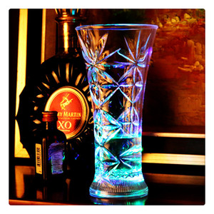 Party LED Light Cup Beer Mug Drink Cup Colorful Cup For Whiskey Wine Vodka Home Drinking Ware Luminous Bar Hiking