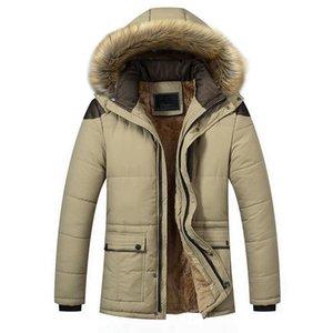 Winter Jacket Men Long Warm Black Male Coat Down Jacket Parka Hooded Snow Cold Windbreaker