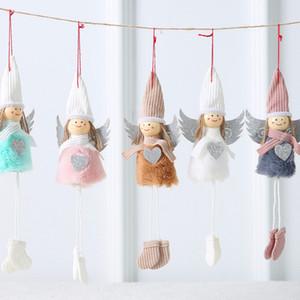 Peluş Kumaş Doll Hediye Anahtarlık Süsler Yılbaşı Dekoru HH9-2494 Asma İçin Süsler kolye asılı Noel Süsleri Noel Ağacı