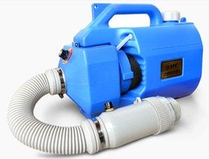Taşınabilir Püskürtme 5L Elektrikli ULV Sisleyici Ultra düşük Kapasiteli Taşınabilir Püskürtme Dezenfeksiyon Püskürtme Aerosol Atomizer Mavi Sulama Ekipmanları