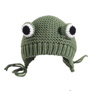 2020 bébé chapeau de laine cache-oreilles pour enfants faits à la main hiver 8 mois-3 ans 1 chapeaux bébé automne et les garçons et les filles hiver