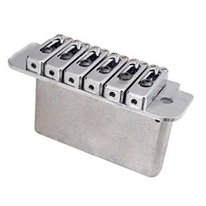 6-String Saddle Tremolo Bridge for Electric Guitar Heavy Duty Thick Base