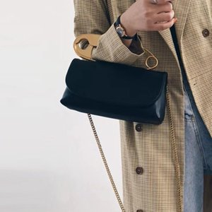 Personnalité Broche type Womens Sacs à bandoulière drôle Pins design Messenger Sacs de luxe en cuir PU femmes Sac à main dames Flap