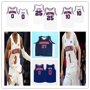 Personalizzato 2021 College Arizona Arizona Wildcats Basket Jersey Steve Kera Chase Jeter Ira Lee Devonaire Doutrive Zeke Nnaji Nico Mannion Josh Green