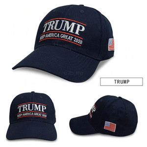 Donald Trump 2020 Baseball Cap outdoor embroidery Keep America Great Again hat Republican Mesh sports cap USA Flag LJJA2604