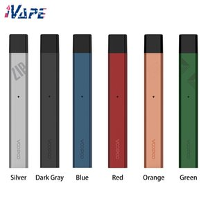 VOOPOO Alpha Zip Pod Kit Eingebautes 250mAh mit nachfüllbarer Pod-Patrone 1,0ml 1,8 Ohm Ultra Slim Vape Pen Style Pod System Kit