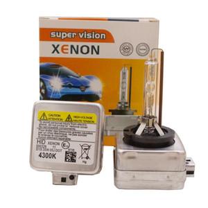 D1S faro allo xeno HID lampada luce 4300K 6000K 8000K 12000K auto si illumina a freddo Faro dell'automobile faro