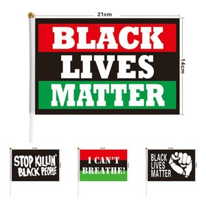 Hot selling Black lives matter flag I can't breathe flag get-together parade flag Festival and party supplies T9I00430