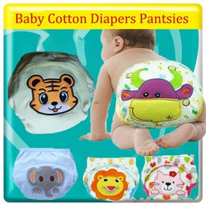Baby Cotton Training Pants Panties Baby Diaper Reusable Diapers Washable Diapers Infants Children Underwear Nappy Changing