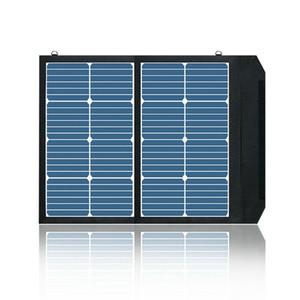 لوحة 45W طوي الشمسية سنباور شاحن للطاقة الشمسية مع تقنية iSolar
